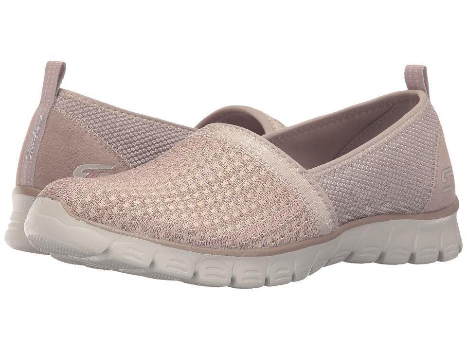 SKECHERS - EZ Flex 3.0 - Big Money (Taupe) Women's Slip on Shoes