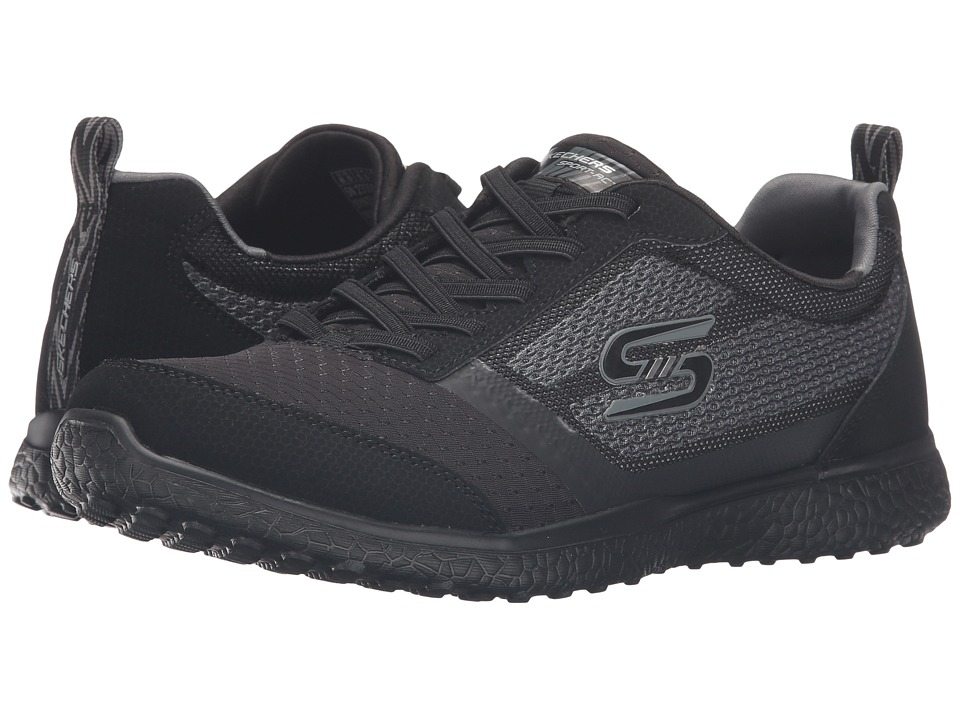SKECHERS - Microburst - Spirited (Black) Women's Shoes