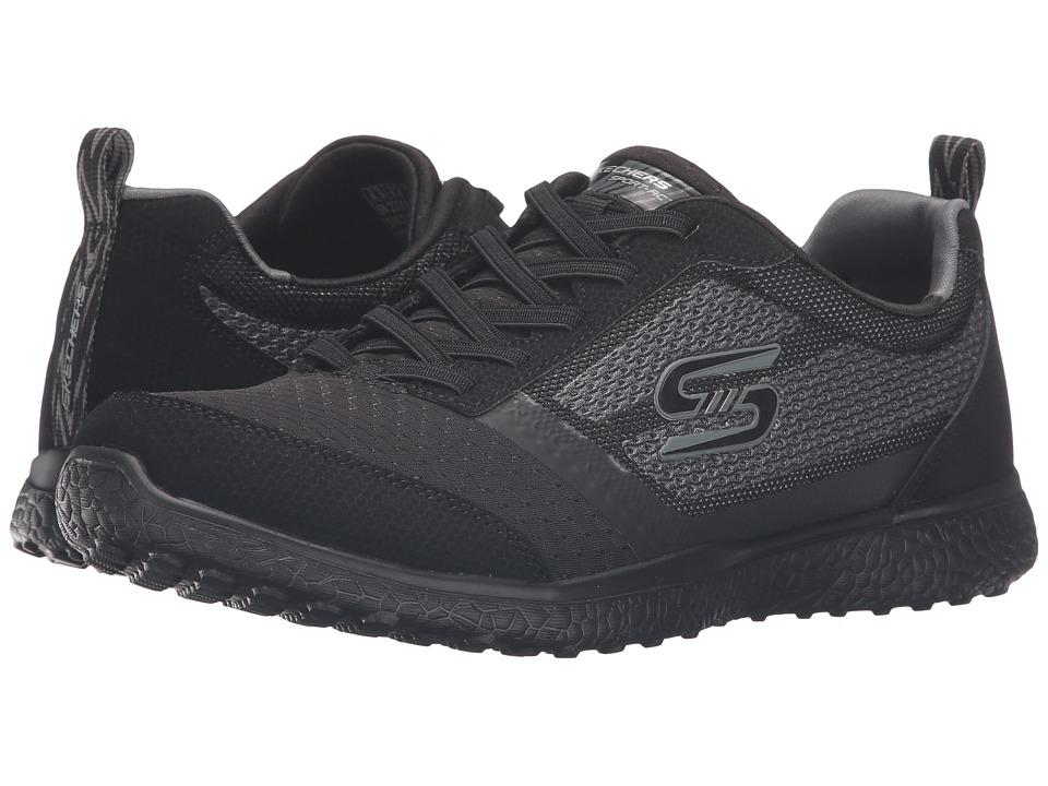 SKECHERS - Microburst - Spirited (Black) Women's Shoes