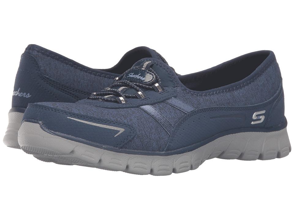 SKECHERS - EZ Flex 3.0 - Feelin' Good (Navy) Women's Slip on Shoes