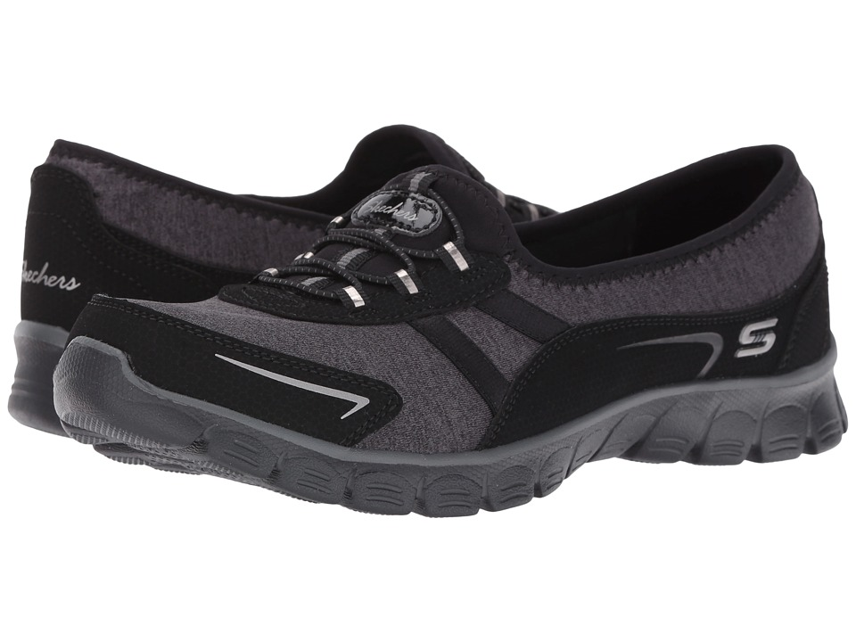 SKECHERS - EZ Flex 3.0 - Feelin' Good (Black) Women's Slip on Shoes