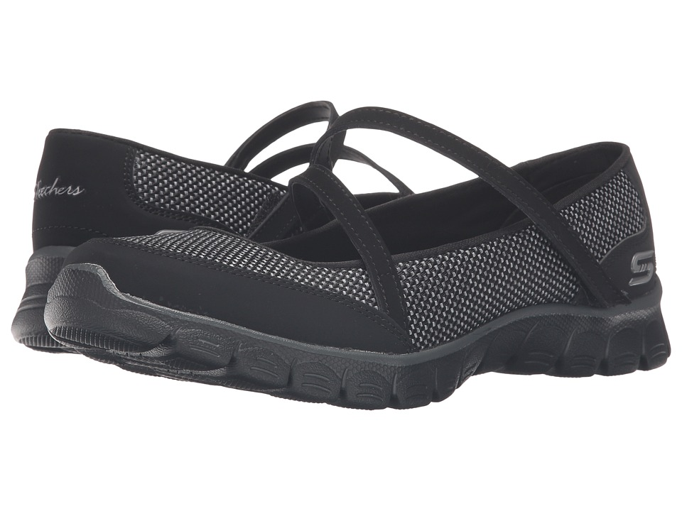 SKECHERS - EZ Flex 3.0 - Stopover (Black) Women's Slip on Shoes