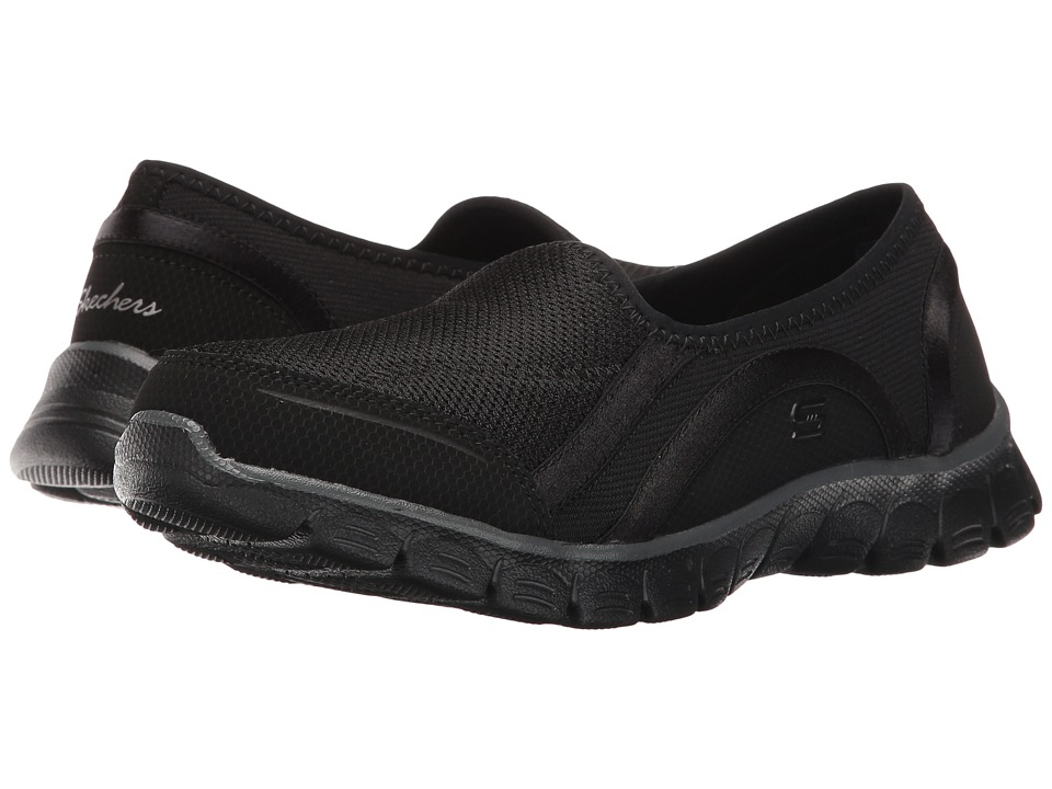SKECHERS - EZ Flex 3.0 - Aroundtown (Black) Women's Slip on Shoes