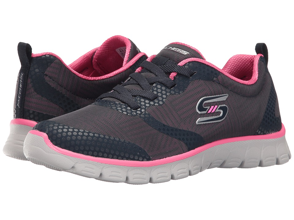 SKECHERS - EZ Flex 3.0 - Ready-To-Roll (Navy/Hot Pink) Women's Shoes