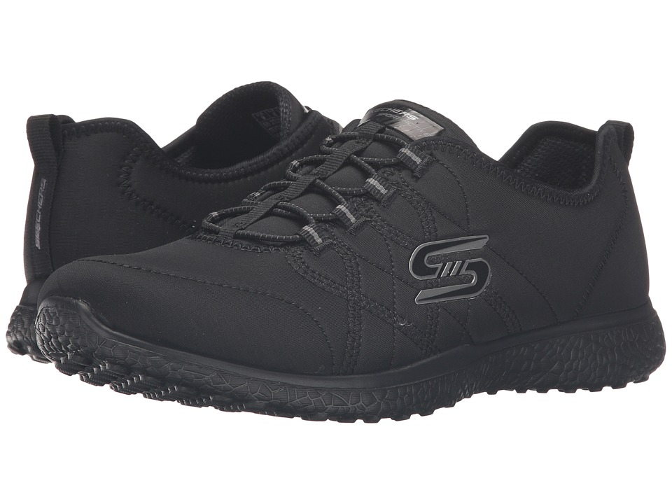 SKECHERS - Microburst - On-The-Edge (Black) Women's Shoes