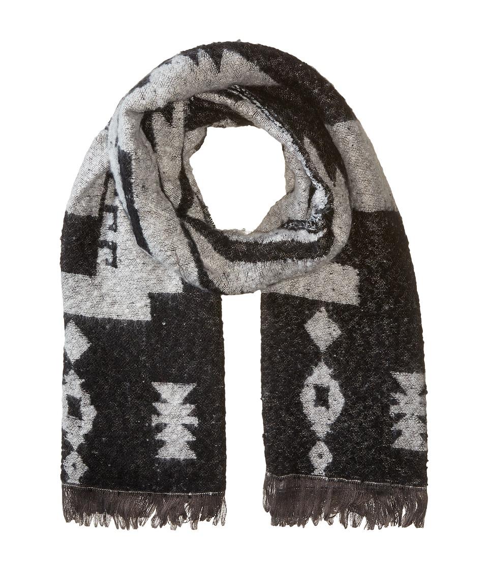 Michael Stars - Mesa Steps Blanket Scarf (Black) Scarves