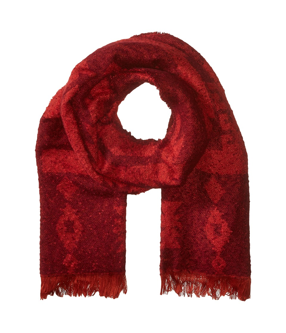 Michael Stars - Mesa Steps Blanket Scarf (Pinot) Scarves