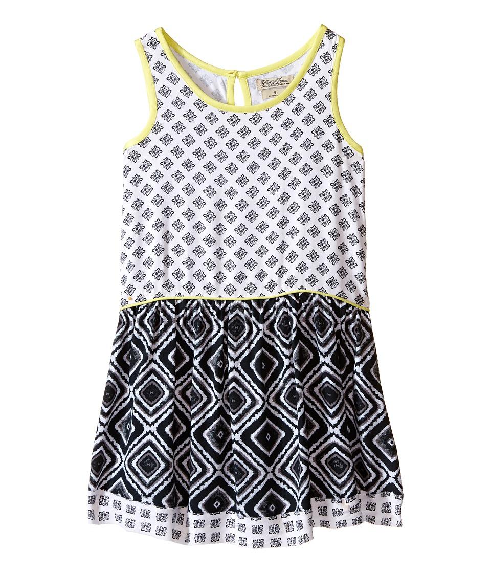 Lucky Brand Kids - Mixed Print Dress (Little Kids) (Pirate Black) Girl's Dress