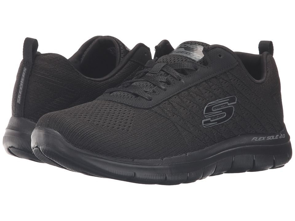 SKECHERS - Flex Appeal 2.0 - Break Free (Black) Women's Shoes