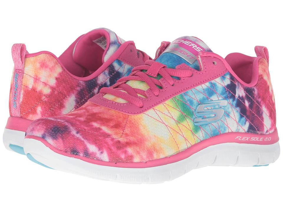 SKECHERS - Flex Appeal 2.0 - Loud Clear (Pink/Multi) Women's Shoes