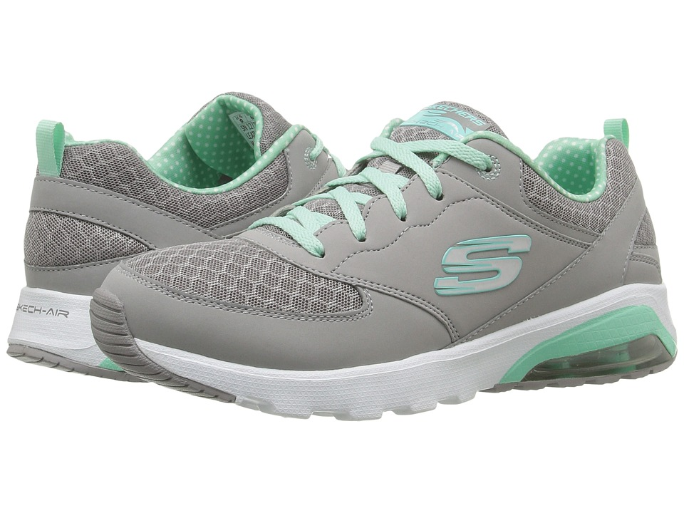 SKECHERS - Skech - Air Extreme (Gray/Mint) Women's Shoes