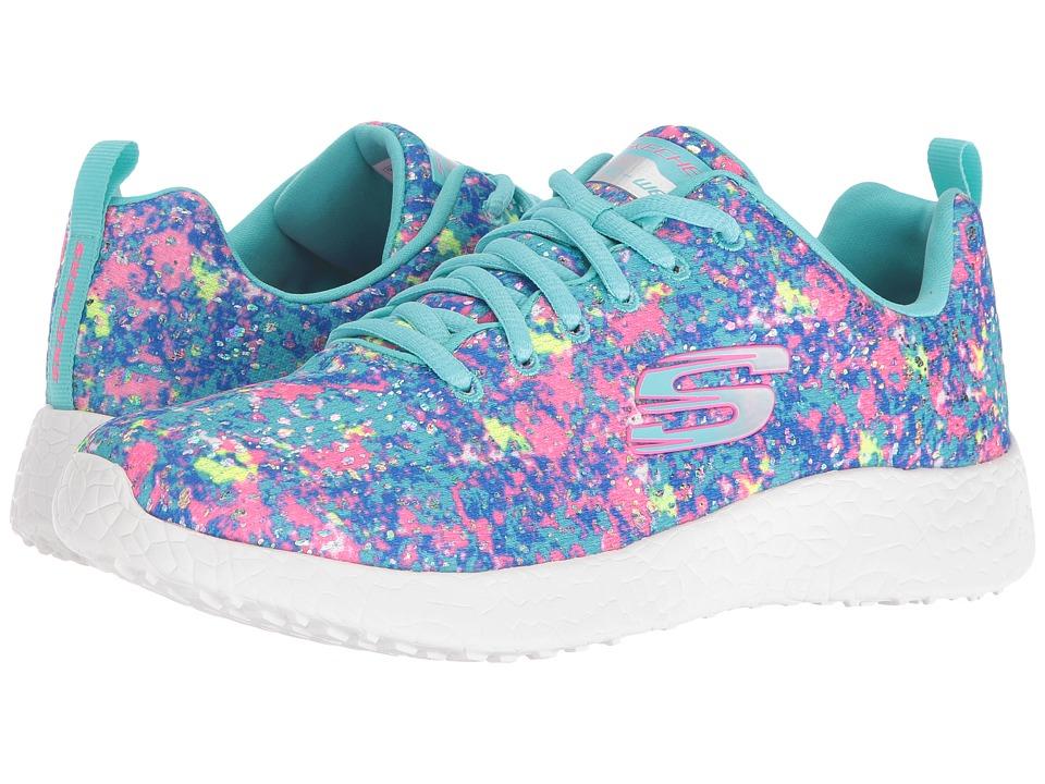 SKECHERS - Burst - Dream Daze (Turquoise/Multi) Women's Shoes