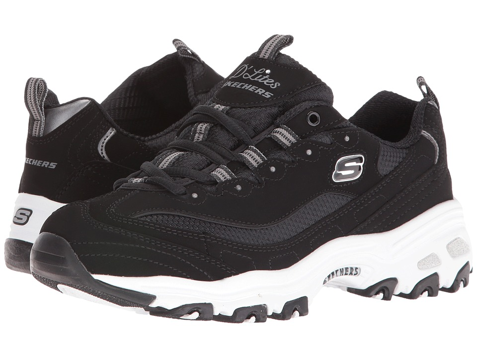 SKECHERS - D'Lites - Biggest Fan (Black) Women's Shoes