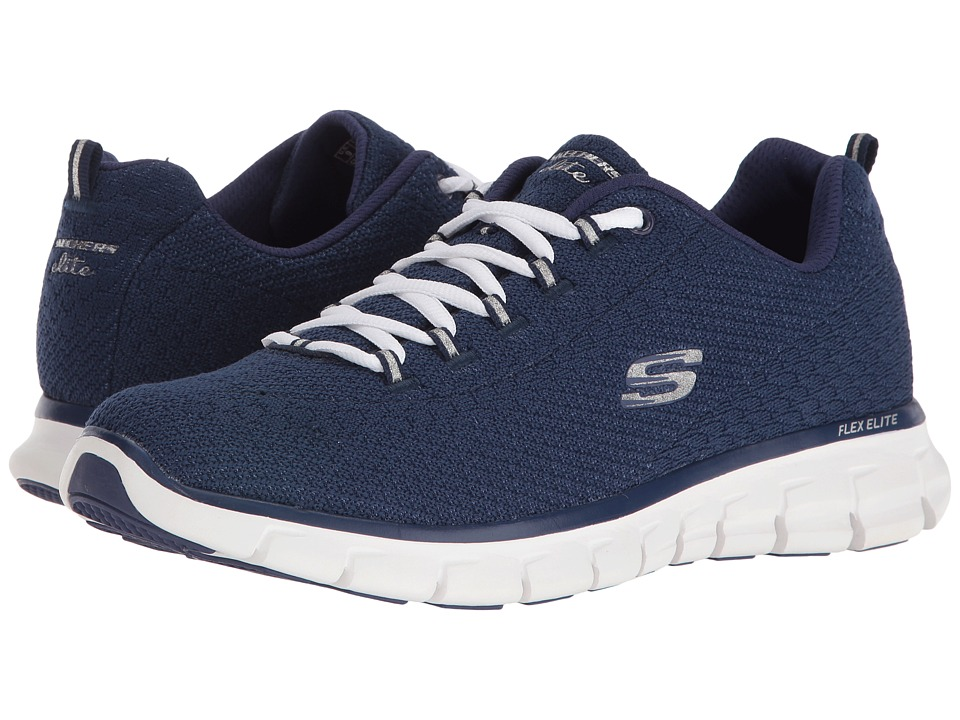 SKECHERS - Synergy - Safe Sound (Navy) Women's Shoes