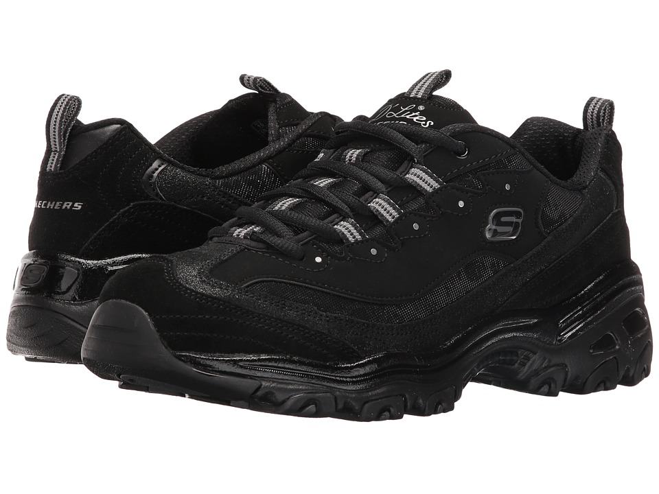 SKECHERS - D'Lites - Counting Stars (Black) Women's Shoes