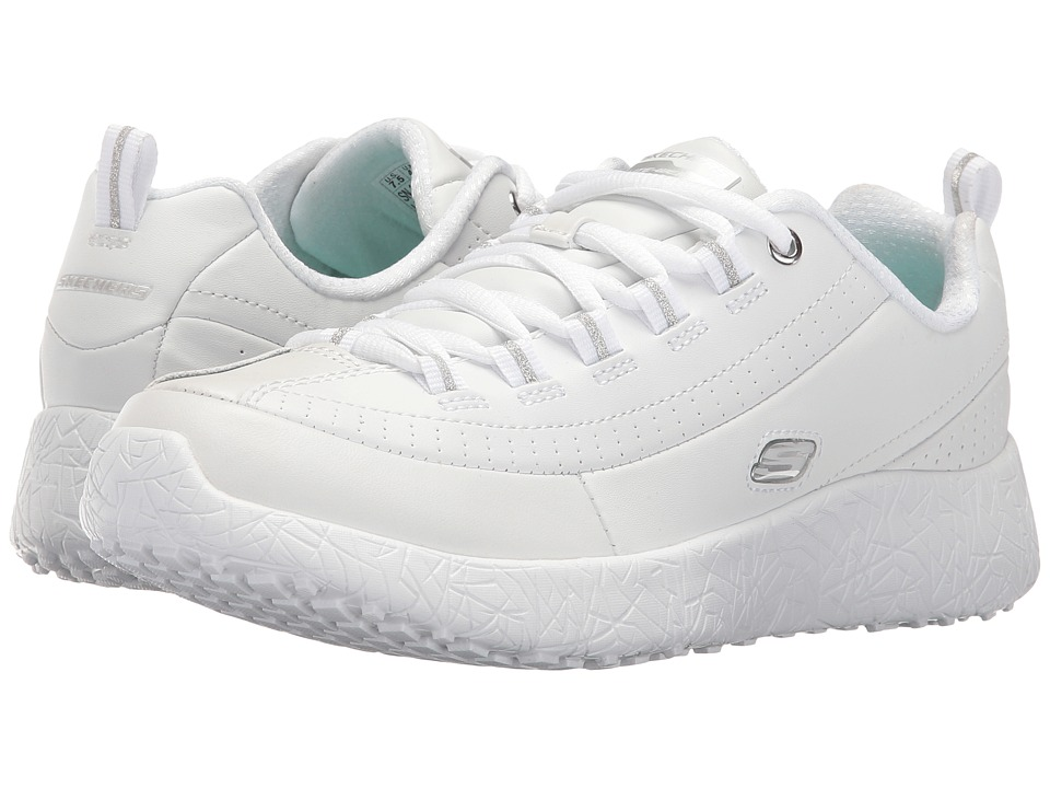 SKECHERS - Burst - Thumbs Up (White) Women's Shoes