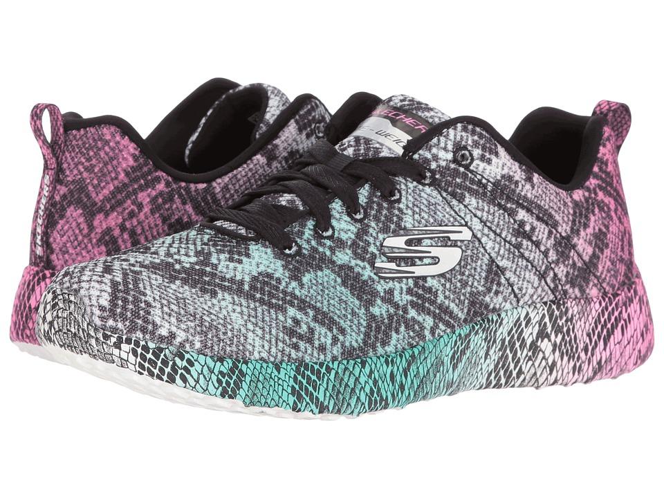 SKECHERS - Burst - Vivid Viper (Black/Multi) Women's Shoes