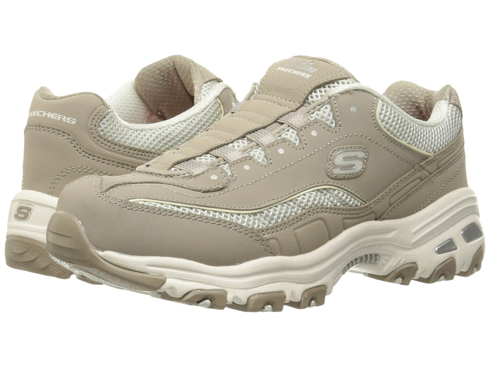 SKECHERS - D'Lites - Truth Be Told (Taupe) Women's Shoes