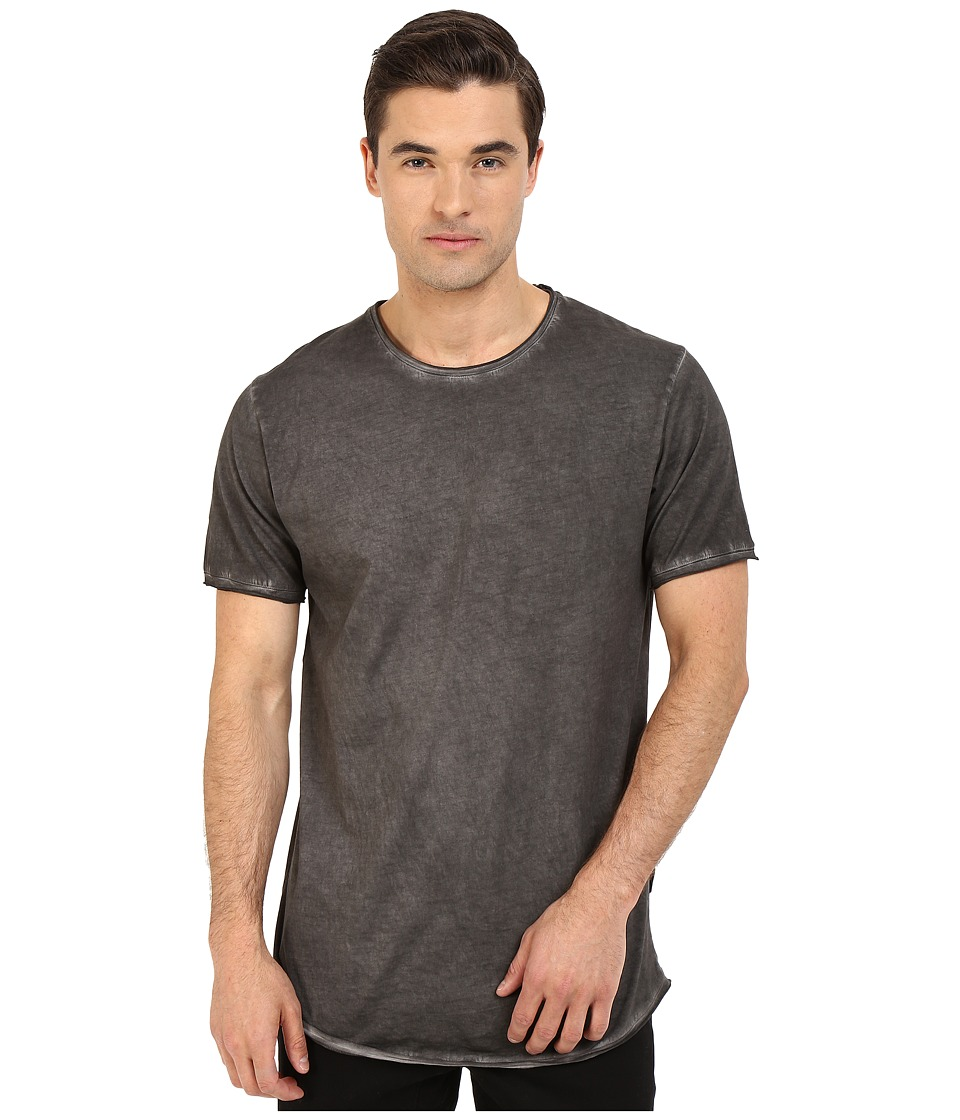Publish - Edgar - Oil Washed Tee (Black) Men's T Shirt
