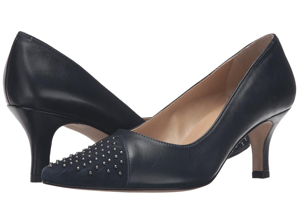 Vaneli - Liuba (Navy Nappa/Suede) Women's Shoes