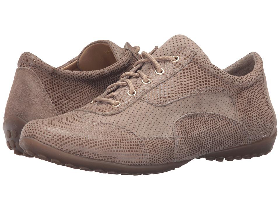 Vaneli - Alfie (Taupe Suede/Print) Women's Shoes