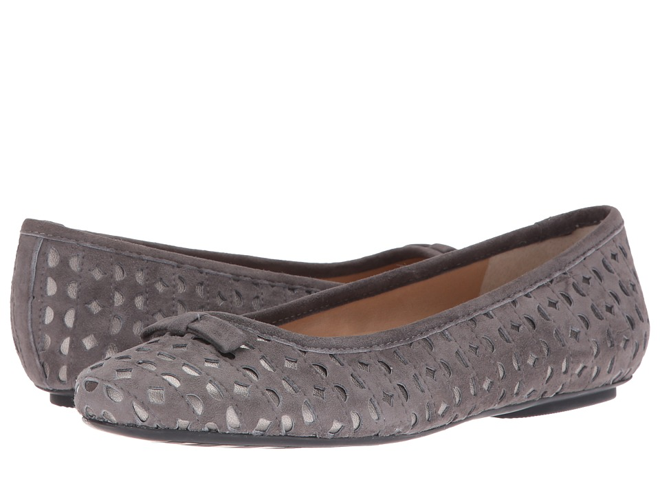Vaneli - Silva (Dark Grey Suede/Pewter Nappa) Women's Shoes