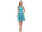 Calvin Klein Calvin Klein - Halter Neck Fit Flare Dress CD6M2B6D