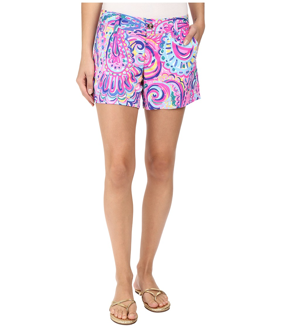 Lilly Pulitzer - Callahan Shorts (Multi Psychedelic Sunshine) Women's Shorts