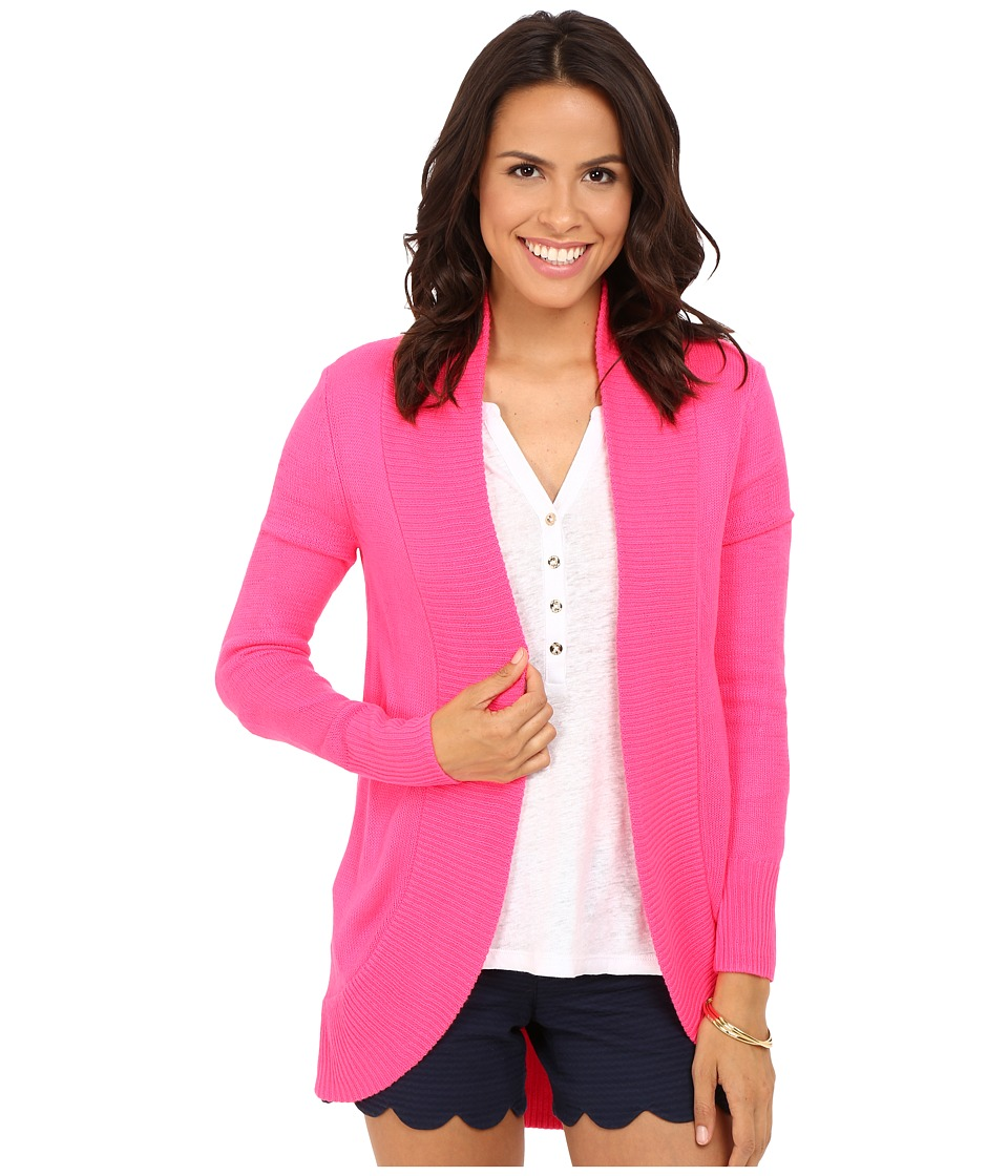 Lilly Pulitzer - Amalie Cardigan (Dragonfruit Pink) Women's Sweater