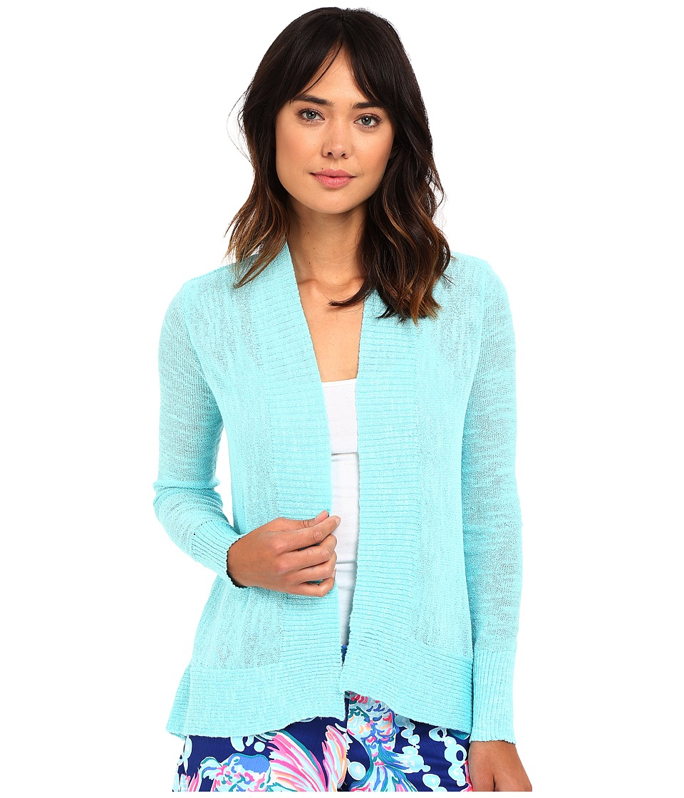 Lilly Pulitzer - Isle Cardigan (Surf Blue) Women's Sweater