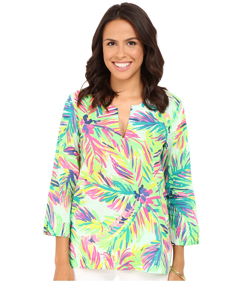 Lilly Pulitzer - Amelia Island Tunic (Multi Island Time) Women's Blouse