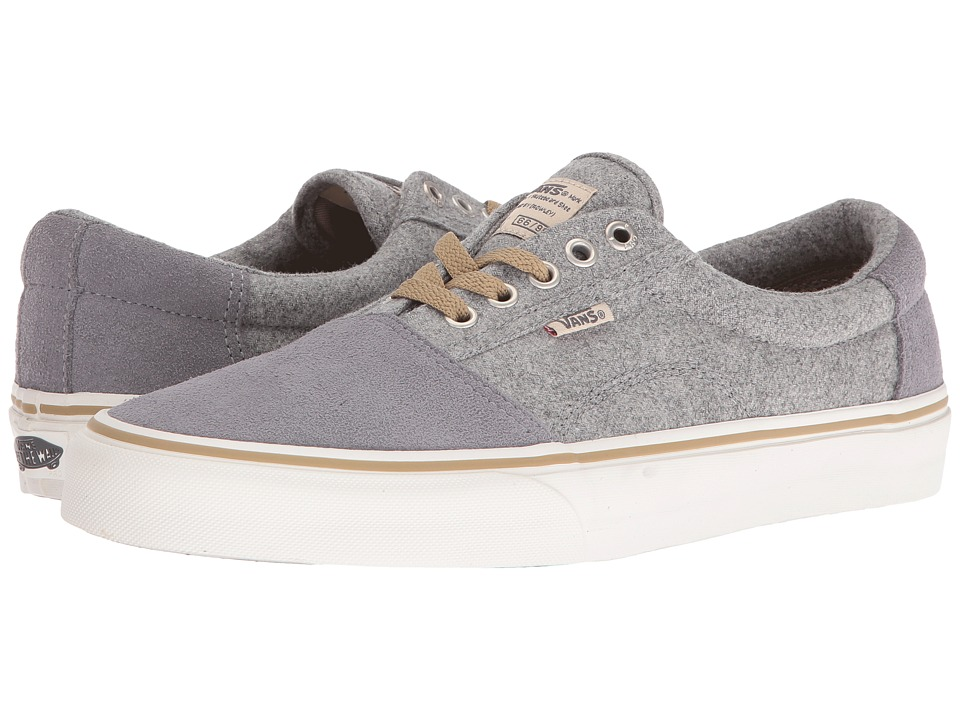 Vans - Rowley [Solos] ((Wool) Light Grey) Men's Skate Shoes
