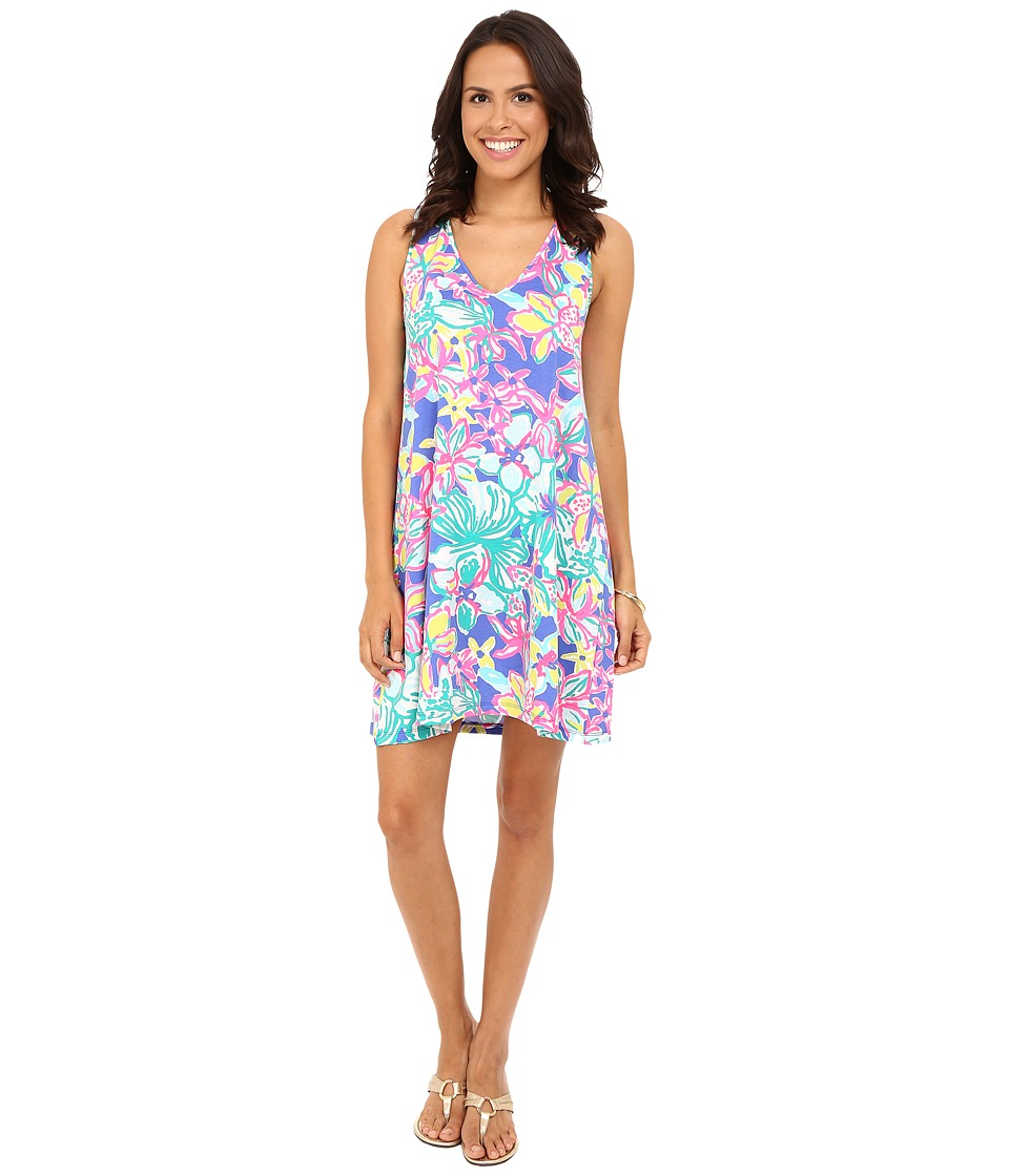 Lilly Pulitzer - Blythe Dress (Iris Blue Casa Azul) Women's Dress