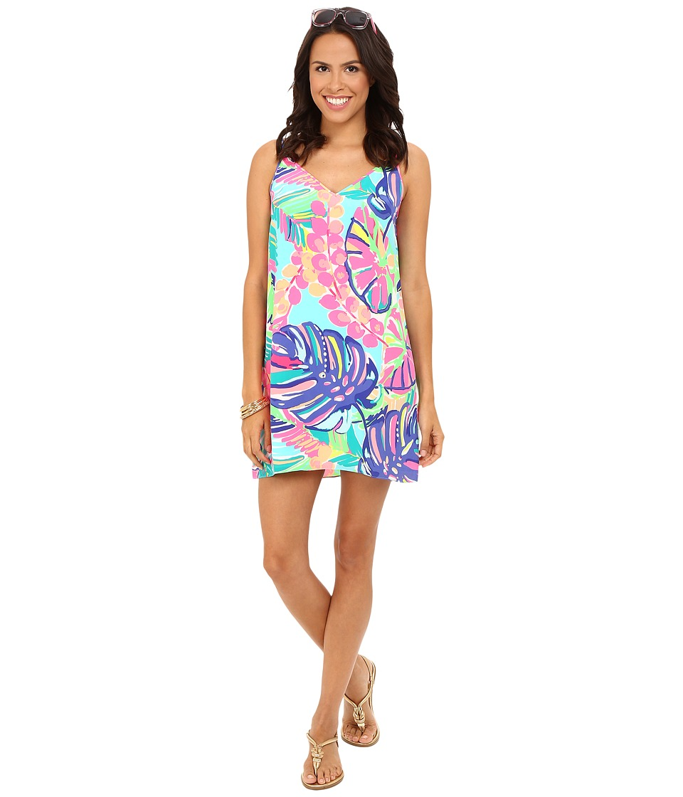 Lilly Pulitzer - Lela Dress (Multi Exotic Garden) Women's Dress