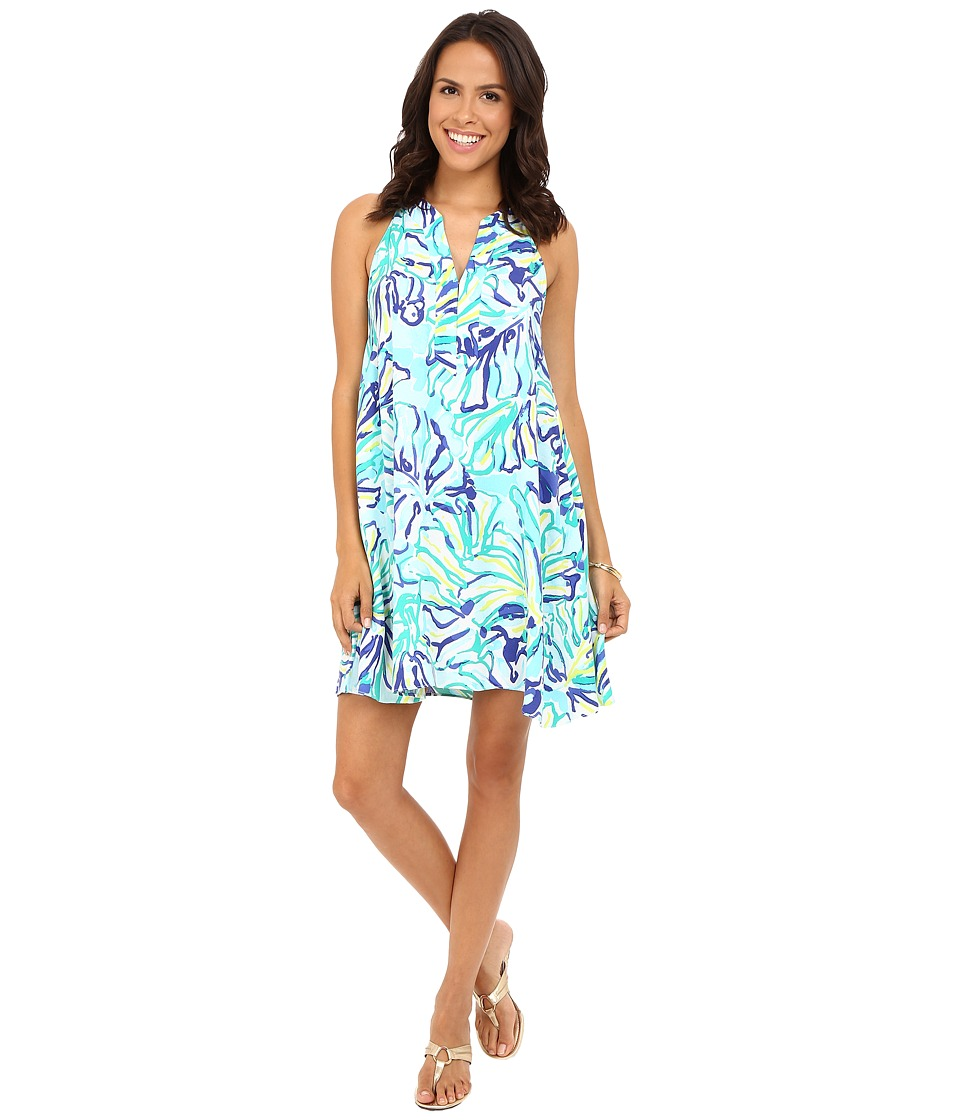 Lilly Pulitzer - Achelle Dress (Pool Blue Stay Cool) Women's Dress
