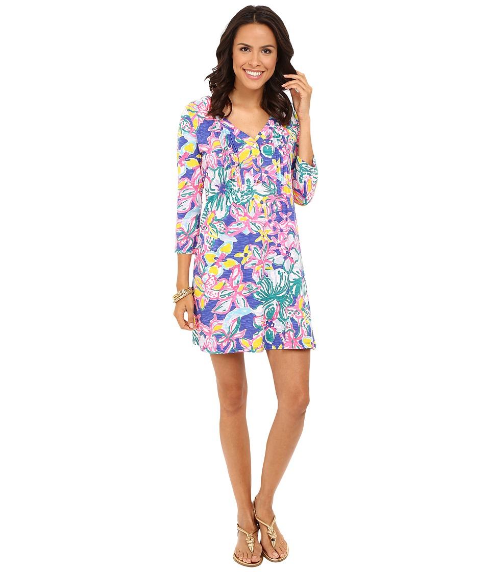 Lilly Pulitzer - Amberly Dress (Iris Blue Casa Azul) Women's Dress