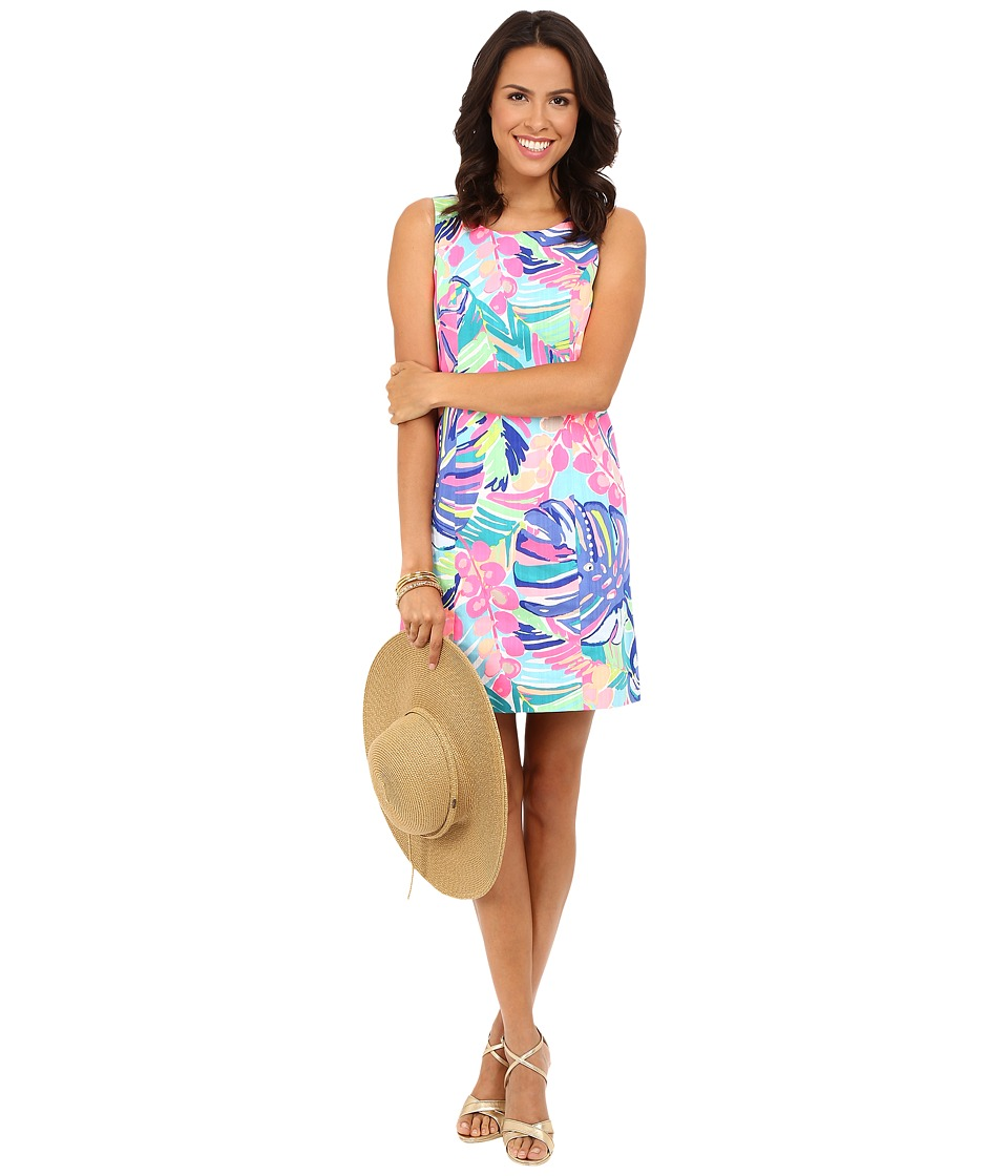 Lilly Pulitzer - Cathy Shift Dress (Multi Exotic Garden) Women's Dress