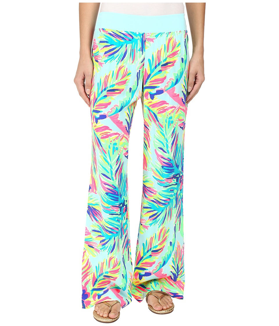 Lilly Pulitzer - Seaside Beach Palazzo Pants (Multi Island Time) Women's Casual Pants
