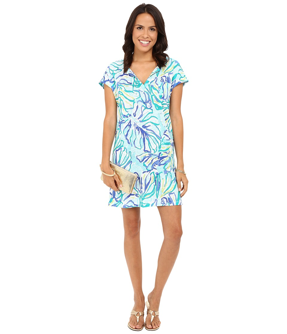 Lilly Pulitzer - Duval Dress (Pool Blue Stay Cool) Women's Dress