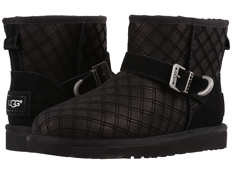 UGG Marilu Double Diamond (Black) Women