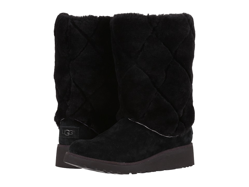 UGG - Ariella Luxe Diamond (Black) Women's Cold Weather Boots