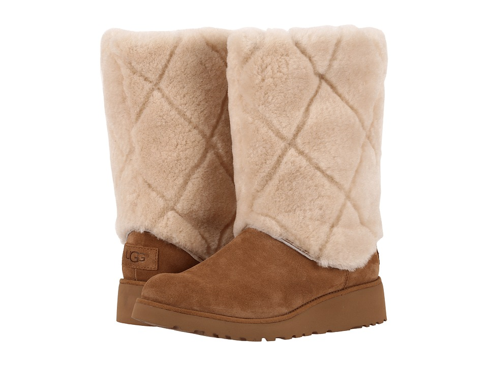UGG Ariella Luxe Diamond (Chestnut) Women