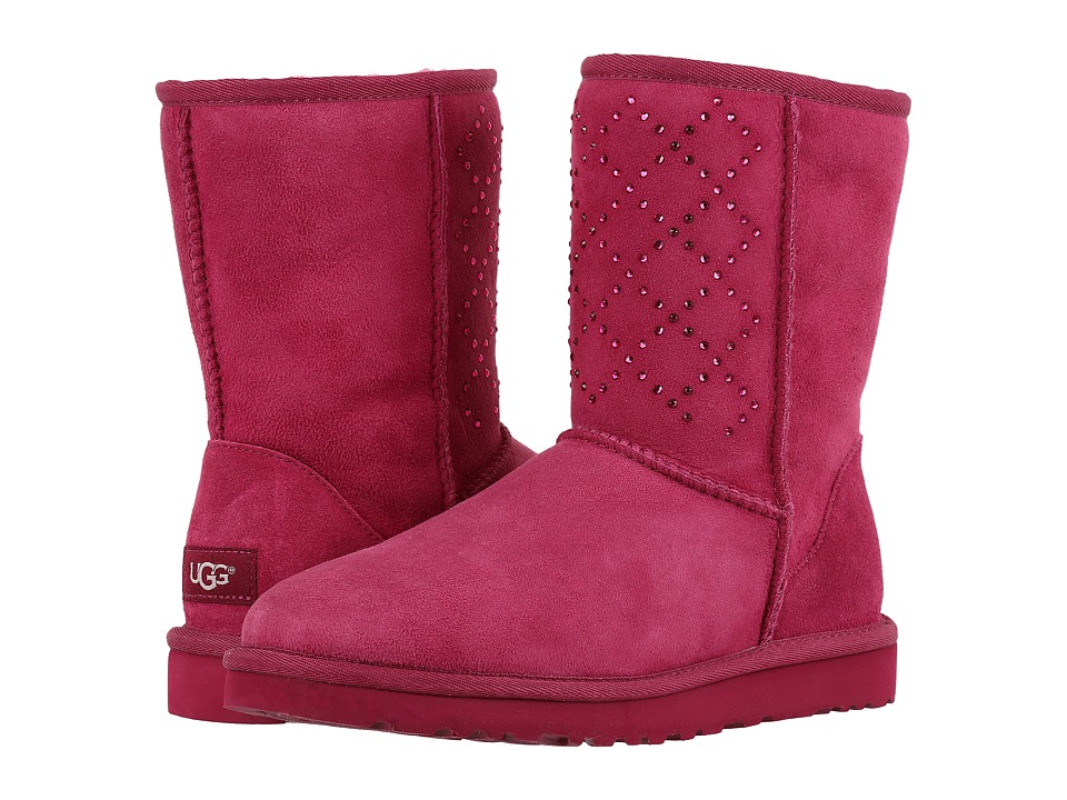 UGG - Classic Short Crystal Diamond (Lonely Hearts) Women's Cold Weather Boots