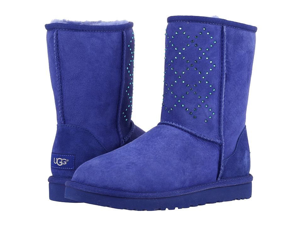 UGG - Classic Short Crystal Diamond (Night Sky) Women's Cold Weather Boots