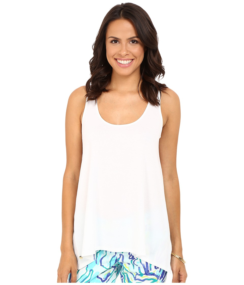 Lilly Pulitzer - Monterey Tank Top (Resort White) Women's Sleeveless