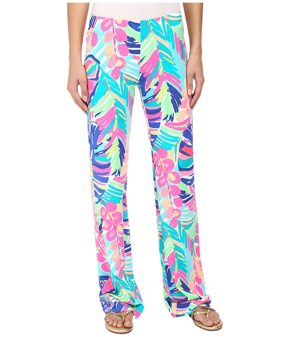 Lilly Pulitzer - Georgia May Palazzo (Multi Exotic Garden) Women's Casual Pants