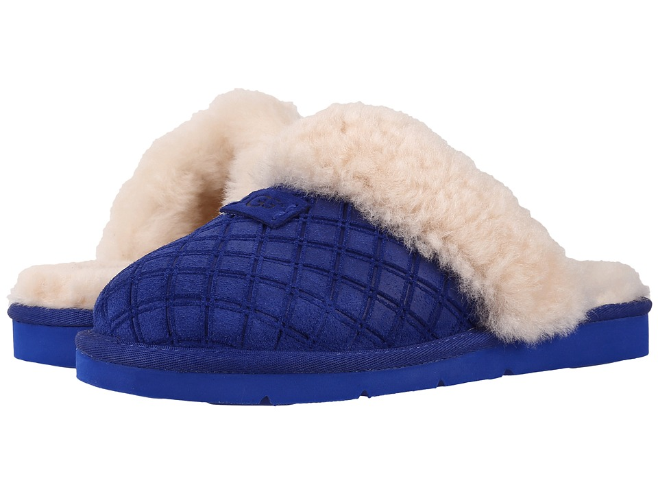 UGG - Cozy Double Diamond (Night Sky) Women's Slippers