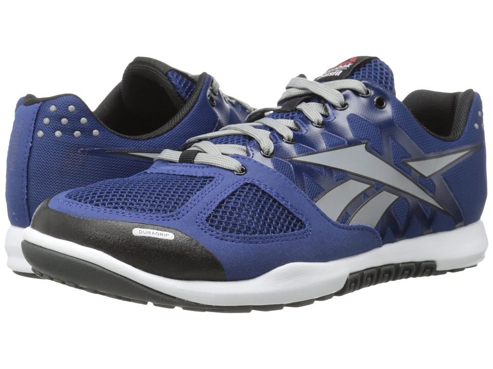 Reebok - CrossFit Nano 2.0 (Club Blue/Flat Grey/Black) Men's Cross Training Shoes