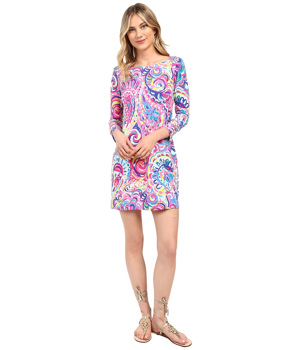 Lilly Pulitzer - UPF 50+ Sophie Dress (Multi Psychedelic Sunshine) Women's Dress