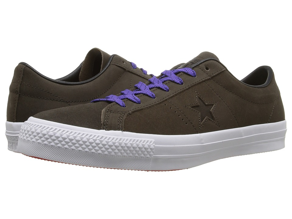Converse - One Star Pro Leather (Hot Cocoa/Black/White) Shoes